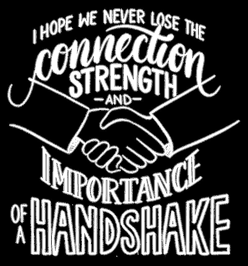 UBC Ihope We Never Lose Handshake Stacey Long Reynolds